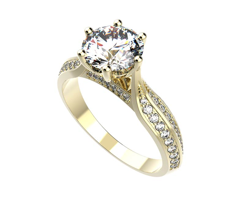šperky s diamantem