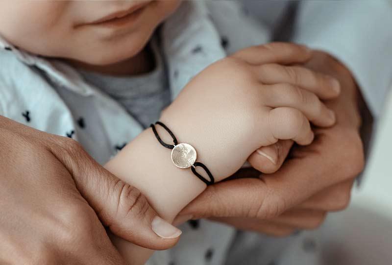šperky s otiskem prstu