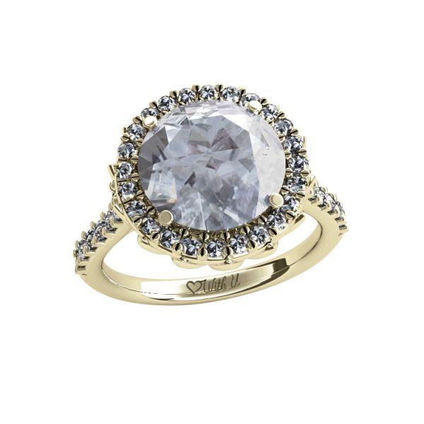 Dámský prsten Magic žluté zlato