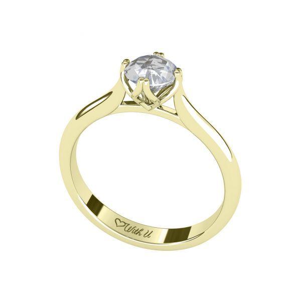Dámský prsten Clench 8 s osobním diamantem