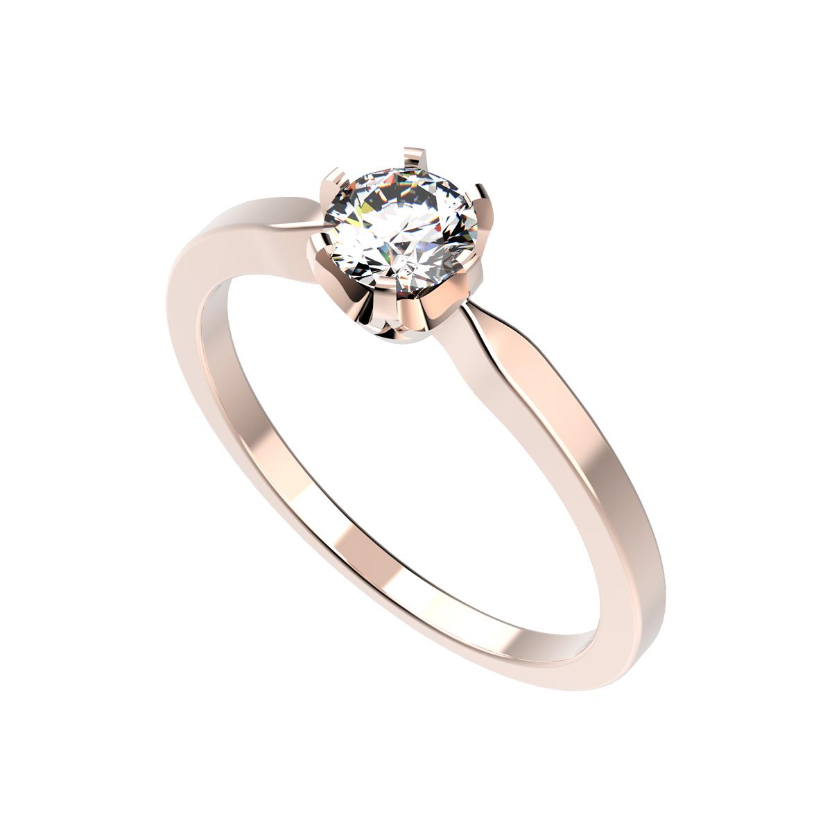 Dámský prsten Clench mini s osobním diamantem