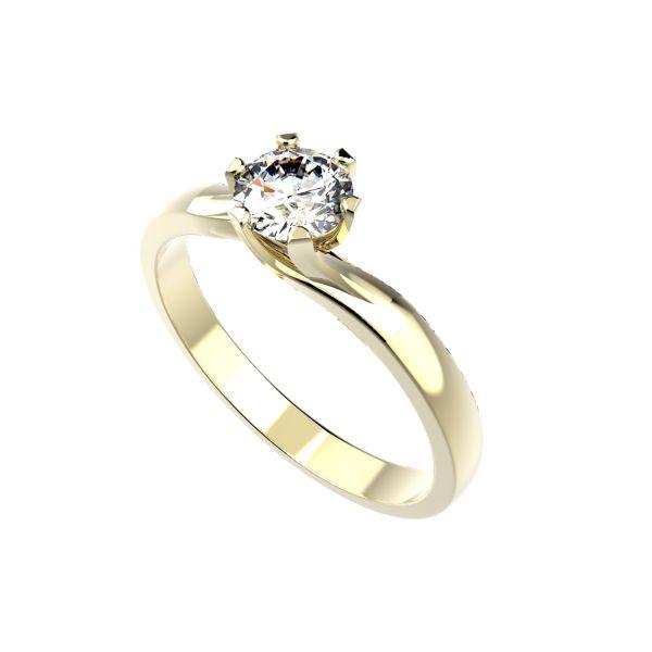 Dámský prsten Rotation s osobním diamantem