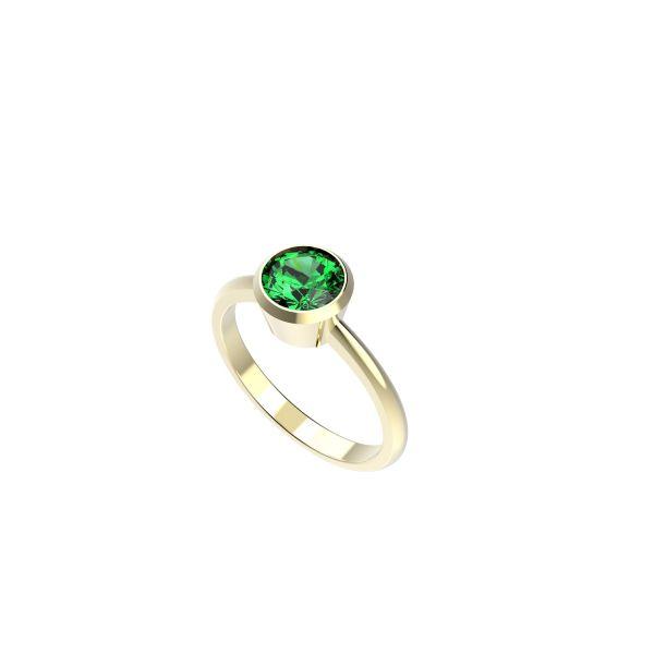 Dámský prsten Round