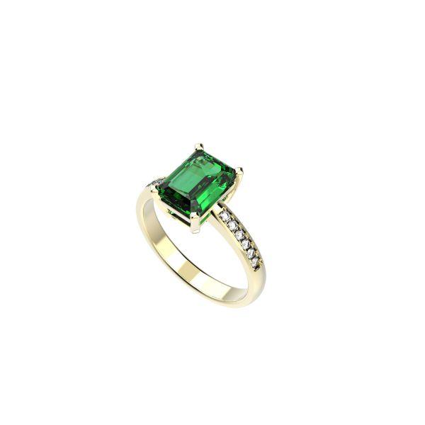 Dámský prsten Block Exclusive s diamanty