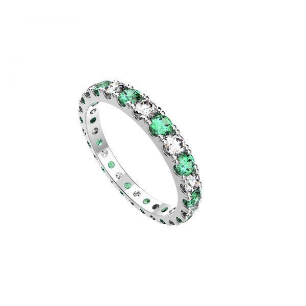 Dámský prsten Eternity air