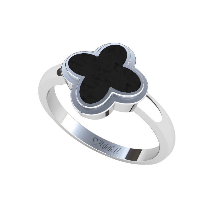 FLOWER Dámský prsten velký