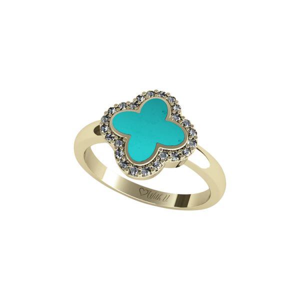 FLOWER EXCLUSIVE Dámský prsten malý