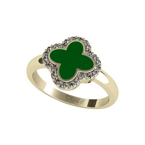 FLOWER EXCLUSIVE Dámský prsten velký