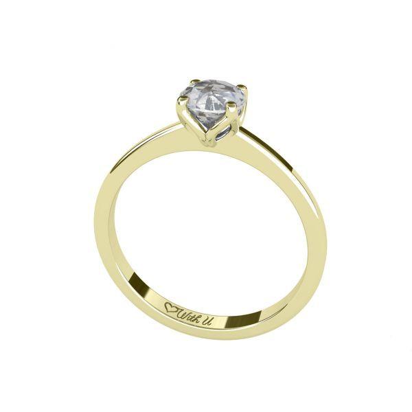 Dámský prsten Clench 4 s osobním diamantem