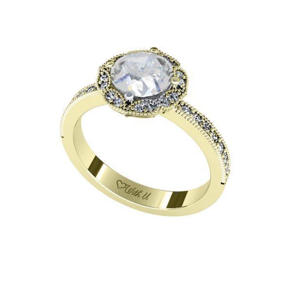 Dámský prsten Spirit s osobním diamantem