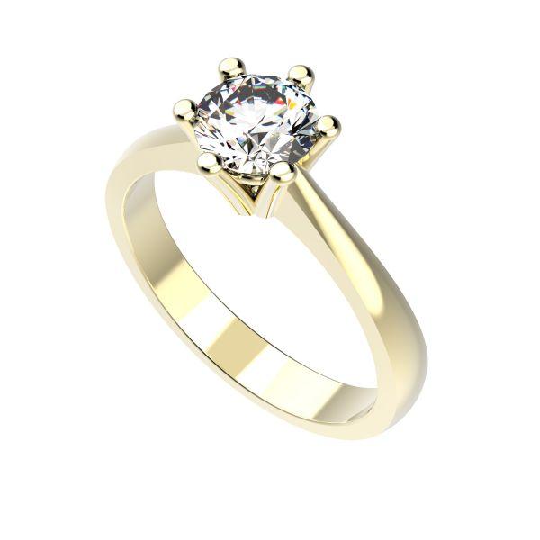 Dámský prsten Flake s osobním diamantem