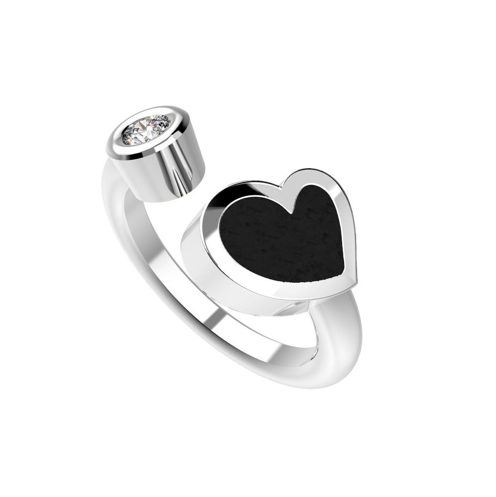 Heart Dámský prsten