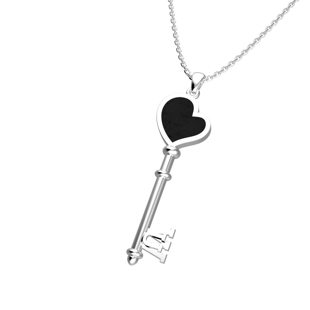 Heart dámský přívěs Key na krk